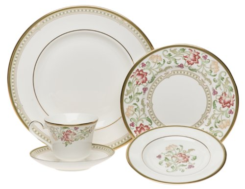 Royal Doulton Lichfield 5-Piece Dinnerware Place Setting Service for 1 Amazon.co.uk Kitchen u0026 Home  sc 1 st  Amazon UK & Royal Doulton Lichfield 5-Piece Dinnerware Place Setting Service ...