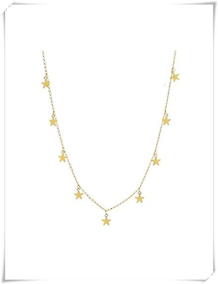 codice promozionale b38a7 279e9 Collana in oro con piccole stelle