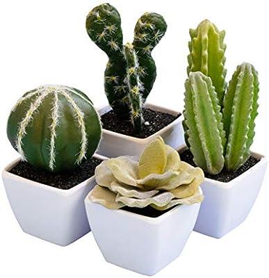 Artificial Succulent Faux Cactus Foams Greens Plants Home Gardens Decoration