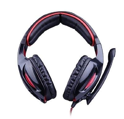 Sades SA902 Black 7.1 Thrilling Surround Sound Cobra Gaming Headphones