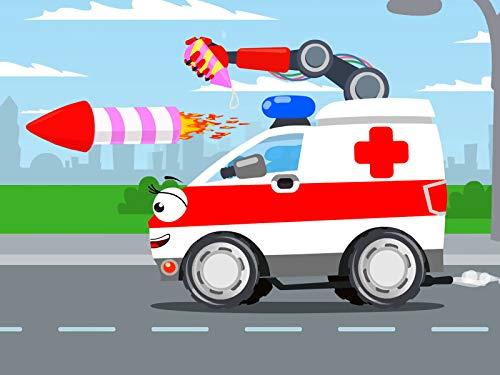 White Ambulance (Confetti Rockets)