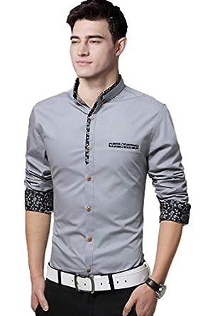 IndoPrimo Men's Regular Fit Casual Shirt