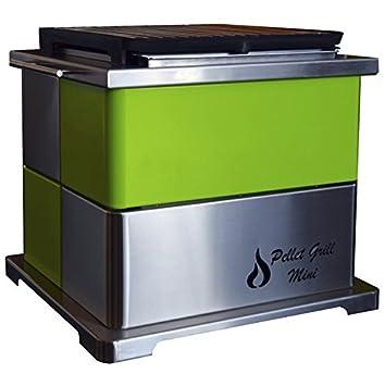 Barbacoa de pellet grill mini verde