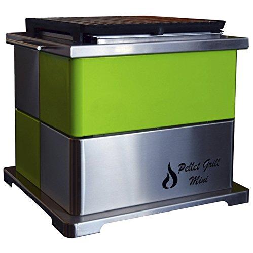Rustiluz Barbacoa de Pellet Grill Mini Verde: Amazon.es: Jardín