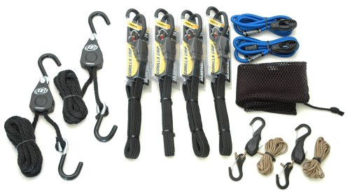 - ProGrip 921000 11-Piece Rope Lock and Bungee Assortment Game Day Kit