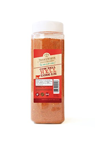 - Barbecue Spice Rub - Cow Bell Hell Premium Seasoning Blend - 24oz Shaker -