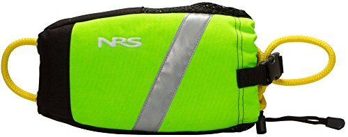 Throw Bag Rope - NRS Wedge Rescue Throw Bag High Vis Green 55'