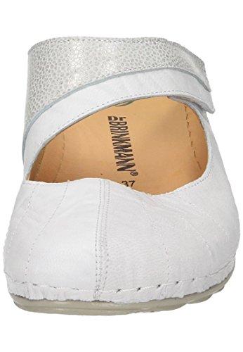 Dr. Brinkmann Dames-pantalon Wit 701104-3 Zwart