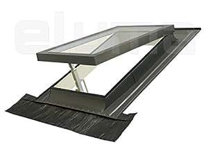 Claraboya ventana para tejado classic vasistas - Tragaluces para tejados ...