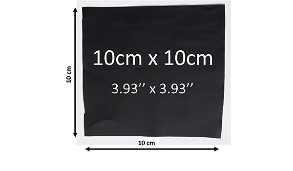 gevoelige geleidende Folie voor druksensor.Velostat.linqstat. e-textiel. positiesensor. detector, 10x10cm, 200: Amazon.es: Industria, empresas y ciencia