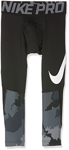 NIKE Pro Hyperwarm Youth Compression Leggings Black Size Youth XL by NIKE