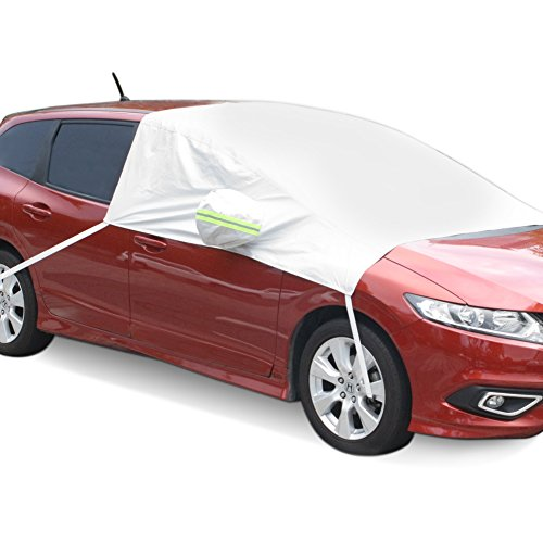 Frost White Silicone (SEG Direct Car Windshield Snow Cover Universal Fit for Pick-up Van MPV)