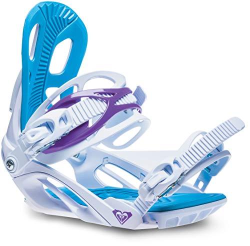 - Roxy Classic Snowboard Bindings Womens Sz M/L (8-10) White