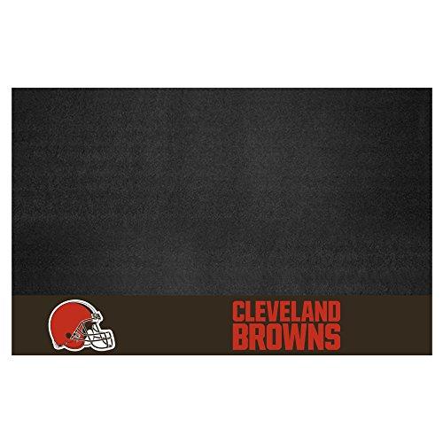 Fanmats NFL Cleveland Browns Vinyl Grill Mat by Fanmats