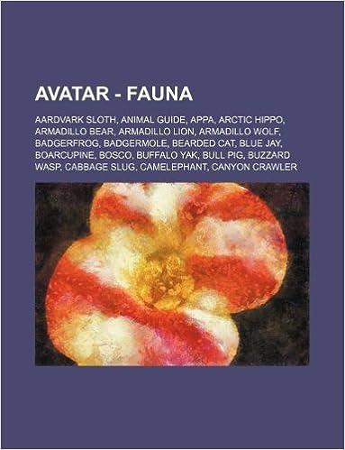 Avatar - Fauna: Aardvark Sloth, Animal Guide, Appa, Arctic