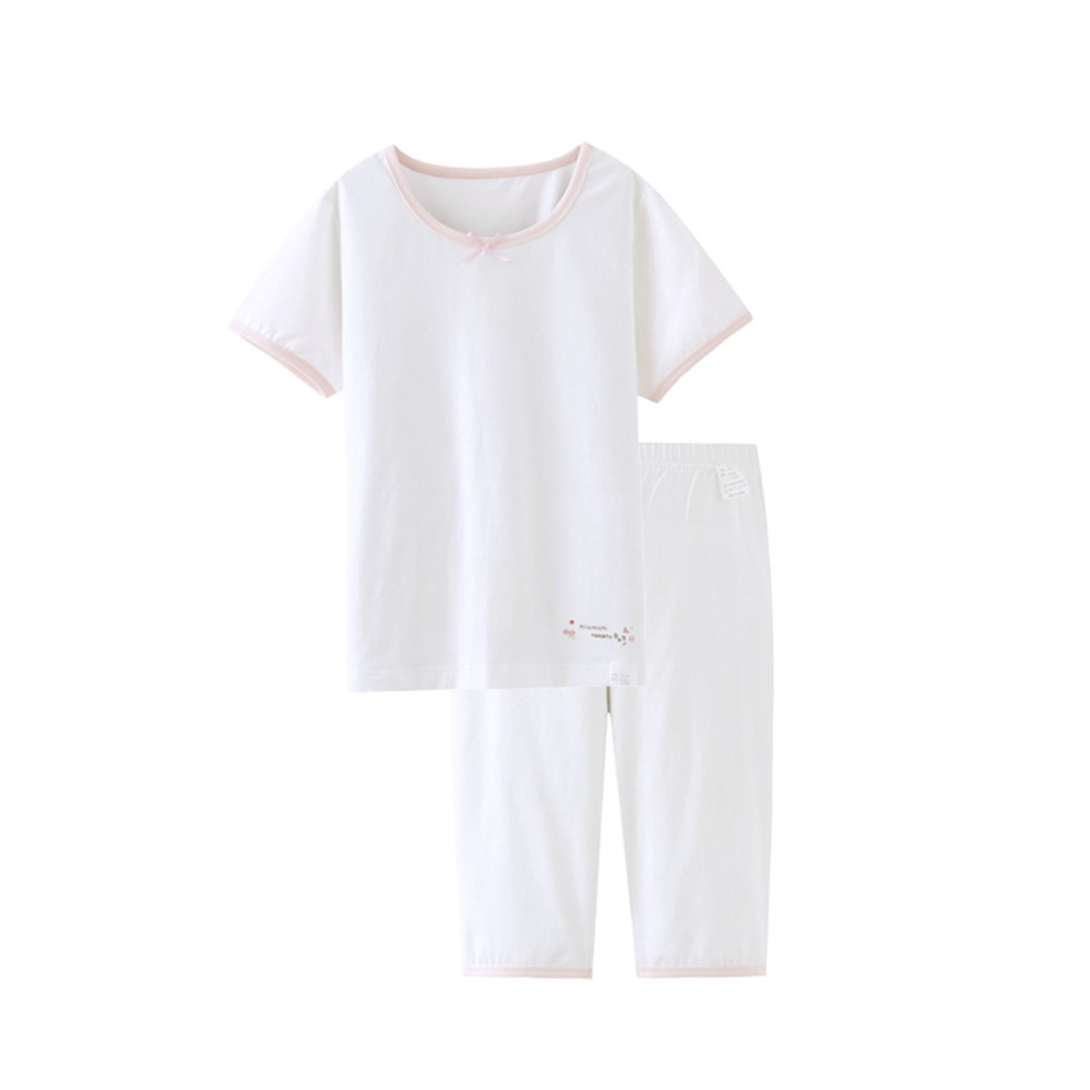 Kids Girls' Pajamas Children Kids Summer Sleepwear Cotton Short Pajamas Set
