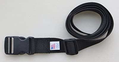 "1 1/2"" Web Belt with Side Release Buckle 1 1/2"" X 56"" Heavy Poly Webbing"