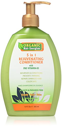 Organic Hair Energizer 5 In 1 Rejuvenating Conditioner, 13 Ounce (Hair Energizer)
