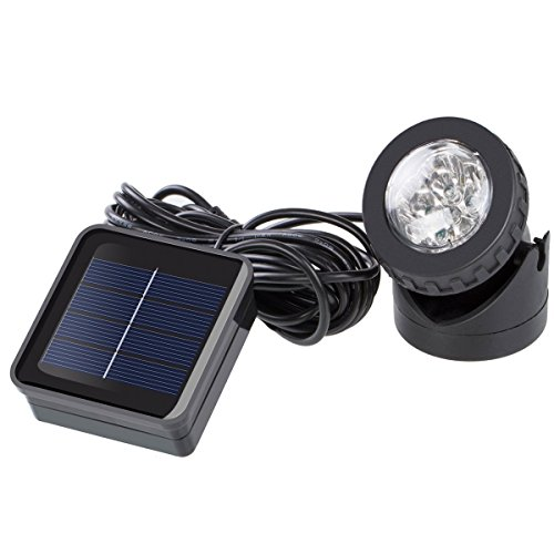 72' Pond (Outdoor Weatherproof Solar Energy Powered LED Spotlight Available for Outdoor Garden Pool Pond Spot Lamp Light)