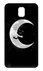 Note 3 Case, Galaxy Note 3 Case, [Perfect Fit] Soft TPU Crystal Clear [Scratch Resistant] Earth And Moon Hugging Creativity Back Case Cover for Samsung Galaxy Note 3 N9000 Cases