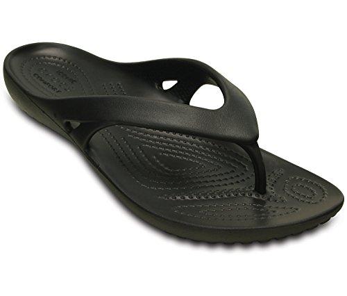 Crocs-kvinners Kadee Ii W-flip-flop, Dame, Farger: Sort