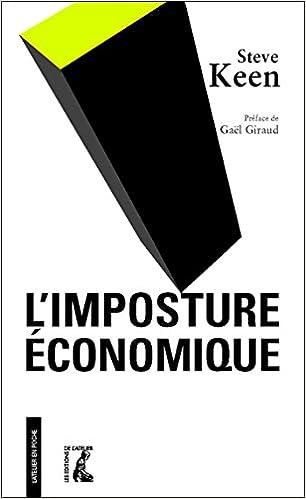 TELECHARGER MAGAZINE L'imposture économique (2017) - Steve Keen