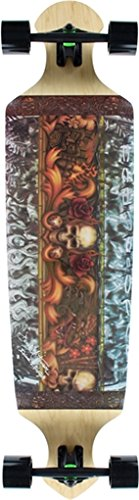Kahuna Creations Longboard Skateboard (Kahuna Creations Drop Deck 43