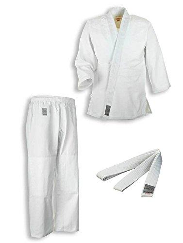 Ju-Sports Traje de Judo Bonsai con Color Blanco Correa para ...