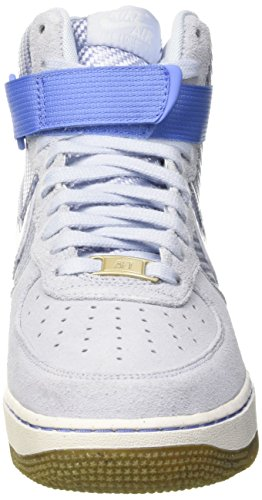 Nike Womens Air Force 1 Hi Prm Porpoise/Porpoise Basketball Shoe 8 Women US by NIKE (Image #4)