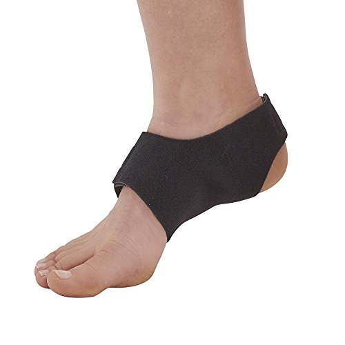 Ames Walker AW Style C90 Plantar Fasciitis Arch Support Black Medium Unisex Relieves Pain from overuse Work Sports Injury Provides Compression Shock Absorption proprioceptive