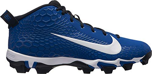 - Nike Men's Force Trout 5 Pro Keystone Baseball Cleats (Blue/White, 10.5 M US)