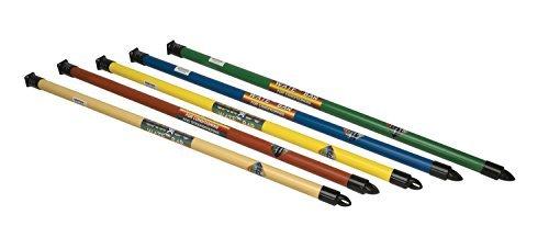 CanDo Slim WaTE Bar - 5 Piece Set - 1, 2, 3, 4, 5 lb