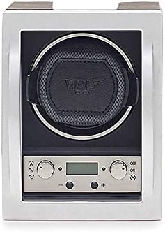 WOLF 454011 Module 4.1 Watch Winder with Cover, Black