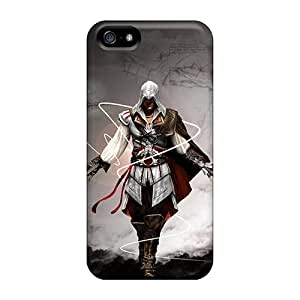 New Assassin Creed PC Skin Case Compatible With For Iphone 5/5S Phone Case Cover