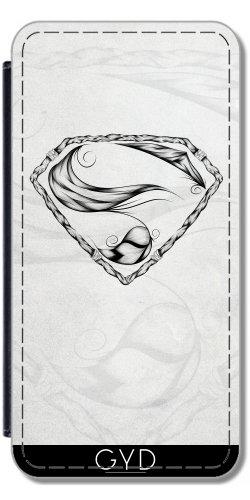 Leder Flip Case Tasche Hülle für Apple Iphone 7 / Iphone 8 - Super-Feder by LouJah