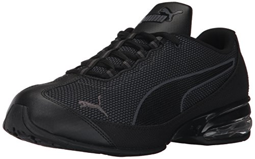 PUMA Reverb Knit Running Shoes, Black-Quiet Shade,10 M - For Running Shades