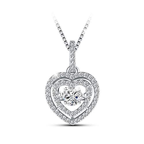 Used, T400 925 Sterling Silver Dancing Diamond Swarovski for sale  Delivered anywhere in USA