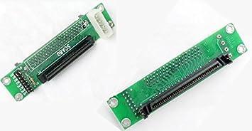 ROSELI SCSI Sca 80Pin Un 68Pin Femmina Adattatore Ultra SCSI II//III LVD Scheda SCSI 80-68