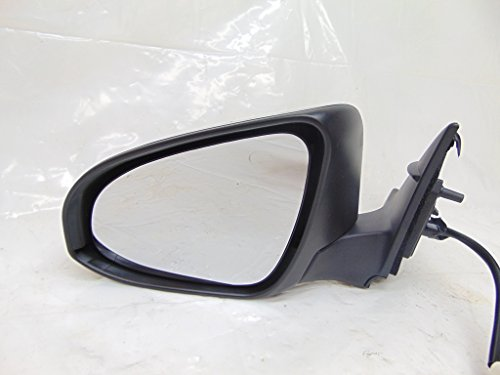 Spieg - fits Toyota Camry 2015 2016 2017 Side Mirror LH, Power, Heated Glass, Paintable Black, Driver, Left, 5PINs - TO1320320