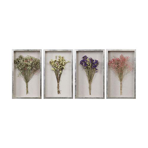 (Uttermost Bouquets Shadow Box - Set of 4)