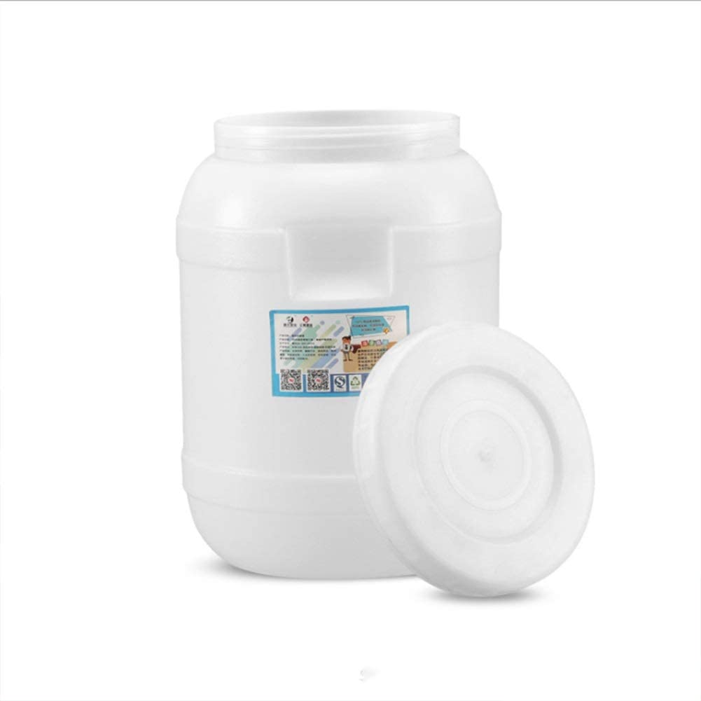 Water Bucket - Vertical Round Water Tank -Food Grade HDPE Blow Molding Container Plastic Barrel - Thicken Cat Food Dog Food Storage Jar Plastic Bucket 10-Liters (Size:10Kg-20Kg) Health and safety