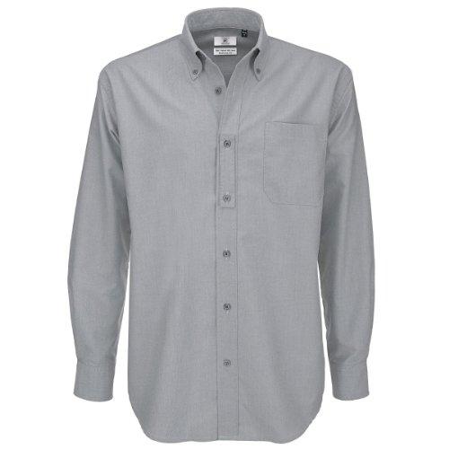 Lunga Moon Camicia Silver Uomo B Manica amp;c Classica p0IAq