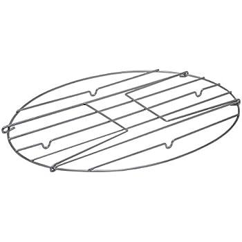 Granite Ware Flat Oval Roaster Rack with Handles, Medium