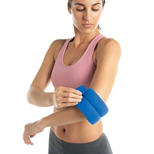 Bed Buddy Joint Wrap Hot & Cold Therapy - Tennis Elbow Treatment and Knee Pain, Ankle Pain, Wrist Relief - Joint Pain Relief, Small, 2 Pack (Best Treatment For Elbow Pain)