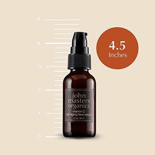 41BSk0Vyo8L - John Masters Organics - Vitamin C Anti-Aging Face Serum - Moisturizer, Anti Wrinkle, Reduce Fine Lines, Repair Dry & Damaged Skin - 1 oz