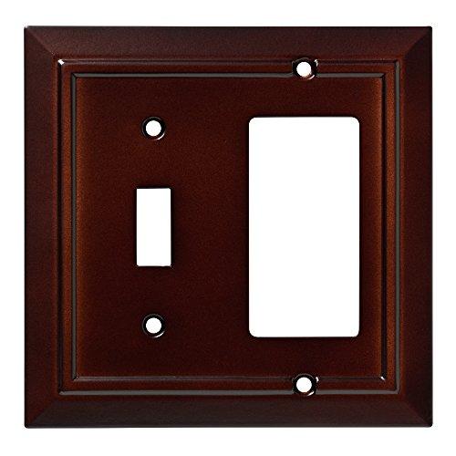 (Franklin Brass W35246-ESO-C Classic Architecture Switch/Decorator Wall Plate/Switch Plate/Cover, Espresso)