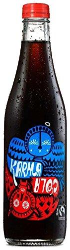 Karma Cola All Natural Sugar Free Karma Cola - Bottle 330ml (Pack of 12) by Karma Kola