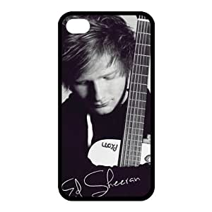Customize Famous Singer Ed Sheeran Back Cover Case for iphone 4 4S Protect Your Phone by ruishername