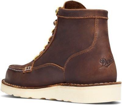 Danner Men's Bull Run Moc Toe 6'' Brown Work Boot 12 D