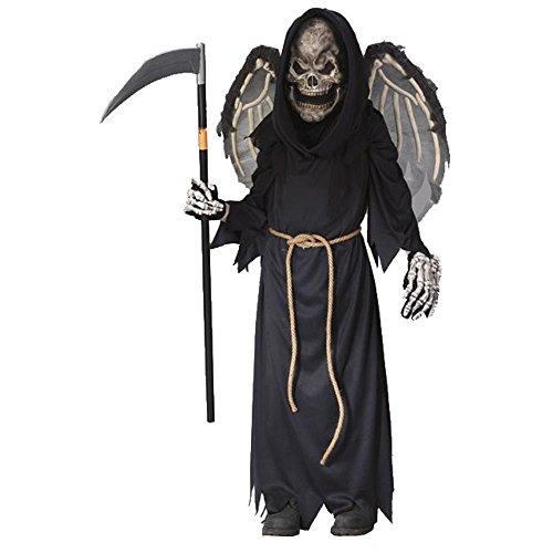 Child's Winged Reaper Halloween Costume (Medium 8-10) -